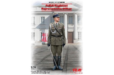 1/16 POLISH REGIMENT OFFICER