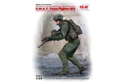 1/24 SWAT TEAM FIGHTER NO. 3