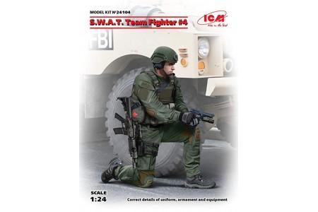 1/24 SWAT TEAM FIGHTER NO. 4