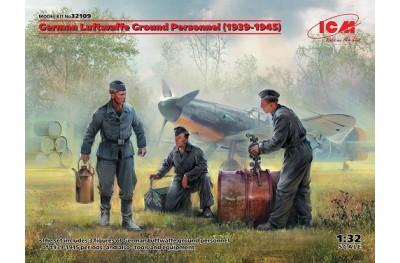 1/35 German Lufwaffe ground personnel