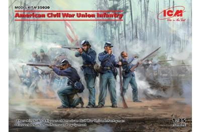 1/35 American Civil War Union infantry