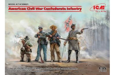 1/35 American Civil War Confederate infantry