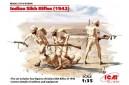 1/35 Indian Sikh rifles 1942