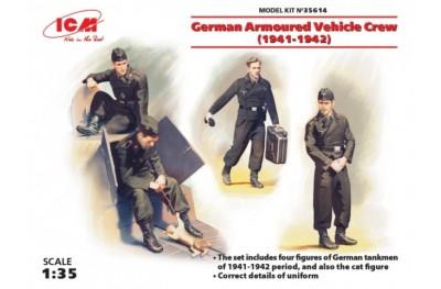 1/35 German armoured vehicle crew