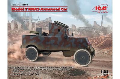 1/35 Model T RNAS armored car