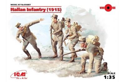 1/35 Italian infantry 1915