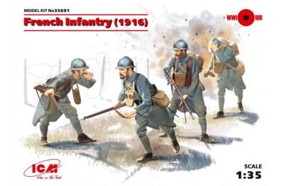1/35 French infantry 1916