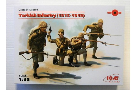 1/35 Turkish infantry 1915-1918