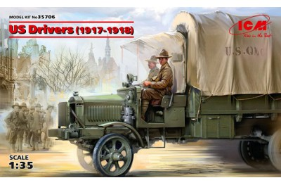 1/35 WWI US drivers