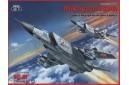 1/72 Mikoyan MiG-25PD Soviet heavy fighter