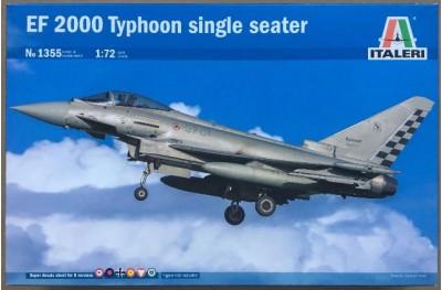 1/72 EF-2000 Typhoon single seater