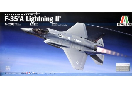 1/32 F-35A Lightning II w/ full interior
