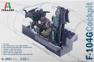 1/12 Cockpit F-104