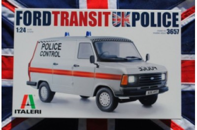 1/24 Ford Transit UK Police