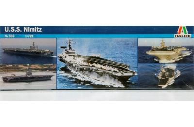 1/720 USS Nimitz CVN-68 Aicraft Carrier