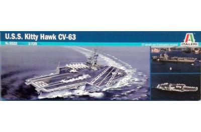 1/720 USS Kitty Hawk CV-63