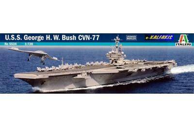 1/720 USS George H. W. Bush CVN-77