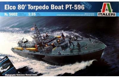 1/35 Elco 80 Torpedo Boat PT-596