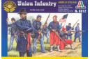1/72 Union infantry with zouaves