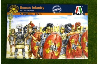 1/72 Roman infantry