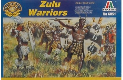 1/72 Zulu warriors
