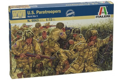 1/72 US paratroopers WWII