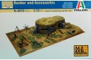 1/72 Bunker and Accessories