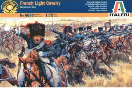 1/72 French light cavalry
