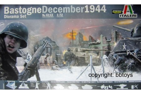 1/72 Bastogne december 1944 diorama set