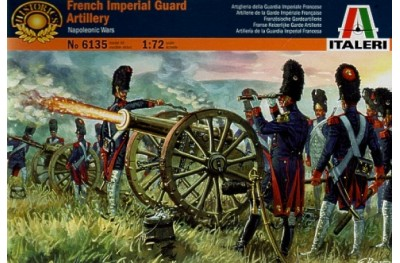 1/72 French guard artillery