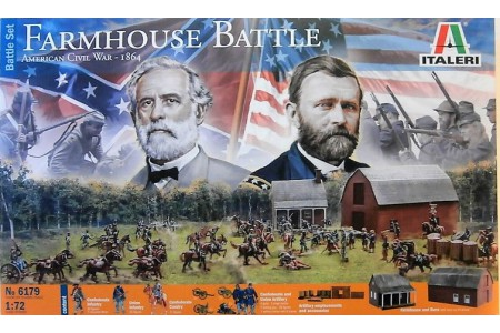 1/72 Farm House Battle American civil war 1864