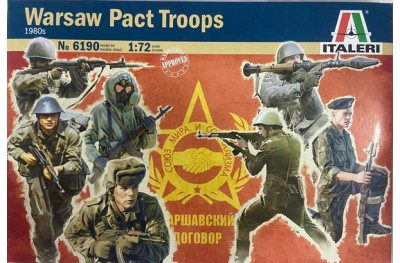 1/72 Warsaw pact troops 80s