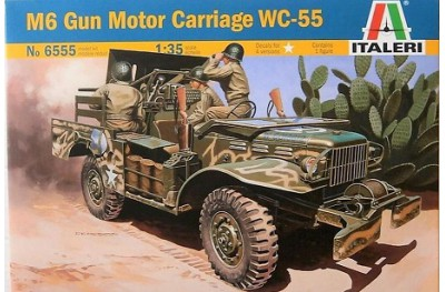 1/35 M-6 gun motor carriage WC-55