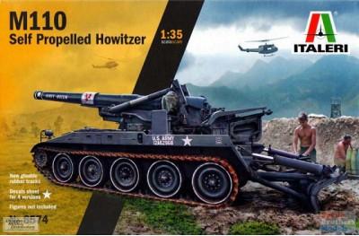 1/35 M-110 self propelled Howitzer (Vietnam war)