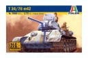 1/72 T-34/76 Mod 1942 w/ 2 soldiers