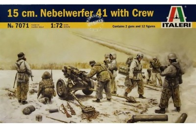 1/72 15cm Nebelwerfer 41 with crew