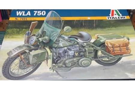 1/9 Harley Davidson WLA750 Motorcycle