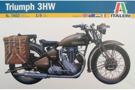 1/9 Triumph 3WH Motorcycle