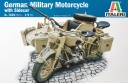 1/9 BMW Motorcycle with side car