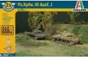 1/72 Pzkpfw III Ausf J (Easy kit - 2 in 1)