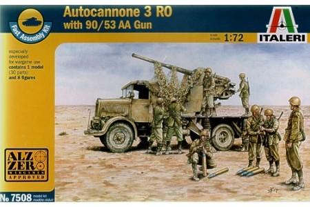 1/72 Autocannone 3 RO w/ AA gun crew