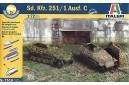 1/72 Sdkfz 251/1 Ausf C (Easy kit - 2 in 1)