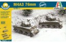 1/72 M4A3 Sherman 76mm (Easy kit - 2 in 1)