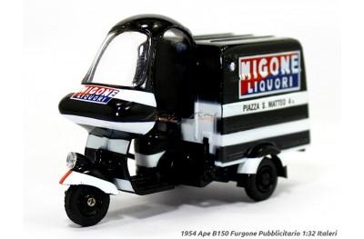 1/32 PIAGGIO B150 FURGONE BLACK