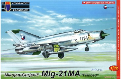 1/72 MiG-21MA Fishbed Pin-up Girl