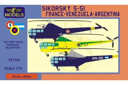1/72 Sikorsky S-51 Helicopter