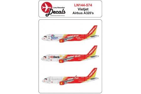 1/144 A-320 VietJet Air decal