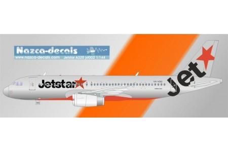 1/144 A-320 Jetstar decal
