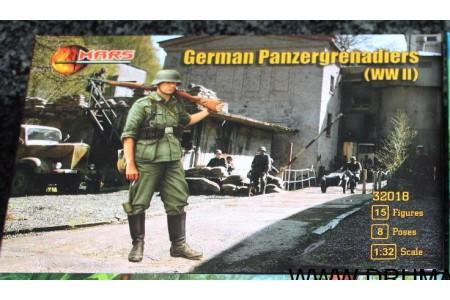 1/32 German Panzergrenadiers WWII