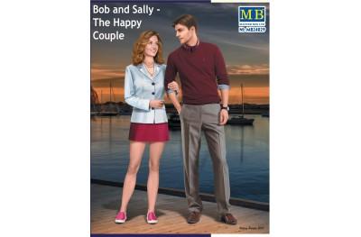 1/24 BOB AND SALLY the happy couple